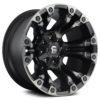 D569 Vapor Matte Black / Double Dark Tint Топливный легкосплавный диск