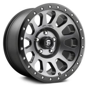 D601 Vector Matte Gunmetal / Black Ring Топливный легкосплавный диск