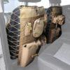 Универсальные чехлы OFF ROAD на спинку переднего сиденья, бежевый Smittybilt GEAR (пара)