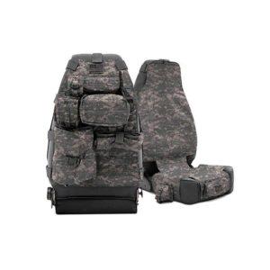 Универсальные чехлы OFF ROAD на спинку переднего сиденья, камуфляж Smittybilt GEAR (пара)