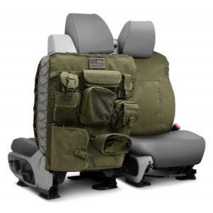 Универсальные чехлы OFF ROAD на спинку передних сидений оливкового цвета Smittybilt GEAR (пара)