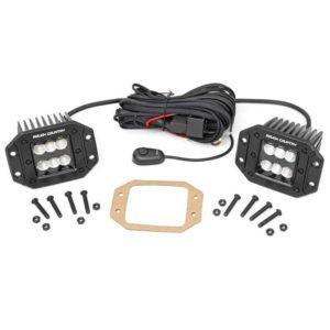 2-дюймовые встраиваемые светодиодные лампы серии Black для сельской местности